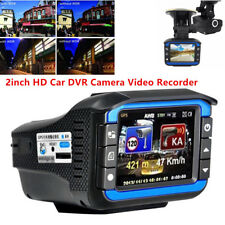 2in1 HD Car DVR Recorder Video Dash Cam Camera Laser Radar Speed Detector 120°