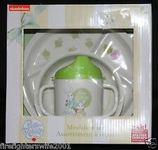 Nickelodeon Peter Rabbit 3 pc Mealtime Set plate bowl sippy cup new