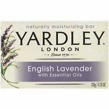 4 Pk Yardley London English Lavender Naturally Moisturizing Bath Bar 4.25oz Each