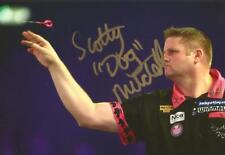 Darts: Scott Mitchell 'Scotty Dog' Signed 6x4 Action Photo+Coa