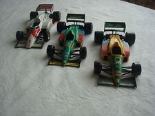 BURAGO-SCALA 1/24 - lot di 3 modelli: formula 1 auto di 1991/1996
