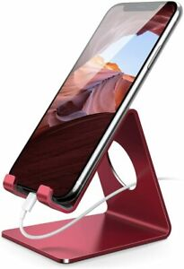 Cell Phone Stand, Phone Dock :Cradle, Holder, Stand for Desk (iPhone / Samsung)