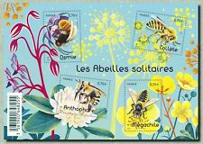 France 2016 solitary bees abeilles solitaire Osmie Collete Megachile ms 4v