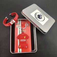 11# Soccer suit Keychain Wristband Wristlet Liverpool Soccer Football Club Fan