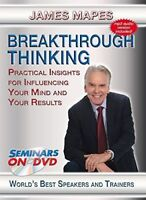James Mapes: Breakthrough Thinking (DVD, 2013) - Usually ships in 12 hours!!!