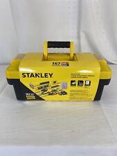 Stanley Home Repair Workshop Mixed Hand Tool Set 167 Pcs Portable Tool Box