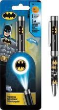Batman Projector Pen Bat Signal Logo Projection Flashlights Black Ink Pen Gift