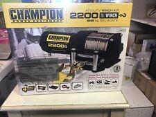 Champion 100127 2200-lb. ATV/UTV Winch Kit