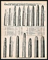 Eley 1892 Ammunition Catalog