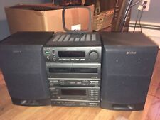 VINTAGE SONY MHC-1750 MINI HI-FI COMPONENT SYSTEM WITH REMOTE