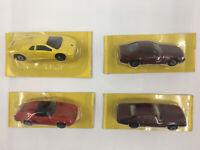 Maisto 1:64 Lot Of 4 Lamborghini Diablo, Porsche 911, Mercedes 500,  Jaguar XJS
