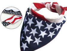Woman Man United States Flag Independence Day Bandana Head Scarf Stars Stripes