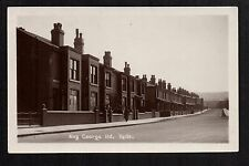 Hyde - King George Road - real photographic postcard
