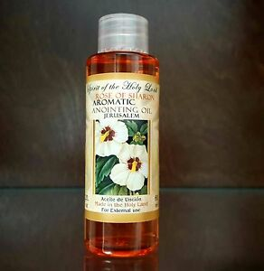 Rose Of Sharon Aromatic Anointing Oil Blessed in Jerusalem Holy Land 60 ml