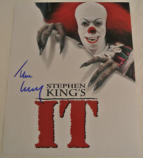 TIM CURRY Stephen King's IT Autographed Movie Signed Clown Photograph AUTOGRAPH
