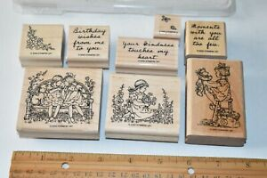 Stampin Up Sugar & Spice Set 8 of 9 Retired 2000 Rubber Stamps