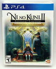 Ni No Kuni II Revant Kingdom Premium Steelbook,DLC etc Playstation 4 PS4 NTSC US