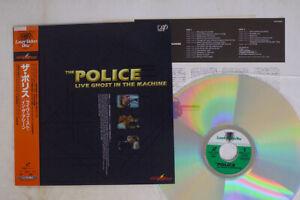 POLICE Live Ghost In The Machine Vap Video VPLR 70604 Japan OBI VINYL LD