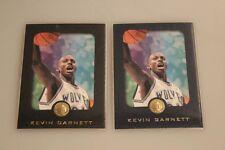1995-96 E-XL Rookie Blue 2 Rookies von Kevin Garnett
