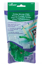 Clover Jumbo Wonder Clips (24 pieces)