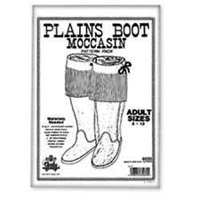 Tandy Leathercraft Adults Plain Boot Moccasin Pattern Pack 6035-00