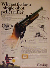 1972 Daisy Single Shot FIVE~SHOOTER BB Gun Air Rifle Toy Memorabilia Trade AD