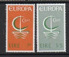 L'Irlanda Gomma integra, non linguellato 1966 SG223-224 Europa