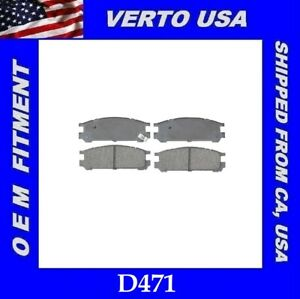 Rear Brake Pad Set 1JQR95 for Legacy Impreza SVX 1995 1990 1991 1992 1993 1994