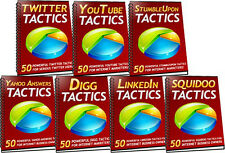 350 Social Media Big Traffic Getting Tactics For Your Internet Business (CD-ROM)