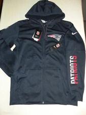 Nike New England Patriots jacket Sideline hoodie Full-Zip Super Bowl Medium M