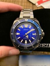Seiko Prospex Srpc93 200m Automatic Watch Save The Ocean Blue