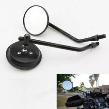 Motorcycle Black Classic Round Mirrors for Suzuki Dirt bike V-Strom DR series