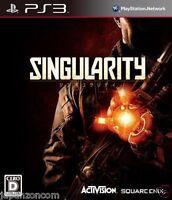 Used PS3 Singularity SONY PLAYSTATION 3 JAPAN JAPANESE IMPORT