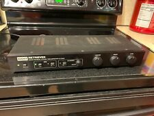 Hughes Srs Ak-500 Sound Retrieval System Studio 3D Audio for mono to Stereo