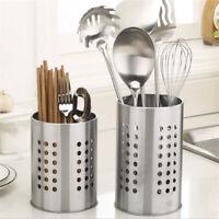 Draining Rack Chopsticks Spoon Fork Storage Box Kitchen Tableware Cutlery Holder