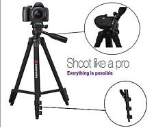 "AGFAPHOTO 50"" Pro Tripod w/Case For Canon Powershot ELPH 190 180 360 350 170 160"