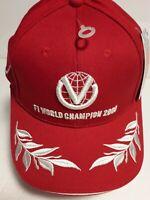 Michael Schumacher vintage hat cap F1 World Champion 2000 New F1 collectible