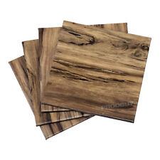 Set di 8 effetto legno in finta pelle Bevande Sottobicchieri Tavolino scrivania da ufficio Mats