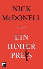 Ein hoher Preis von Nick McDonell (2011, Taschenbuch)