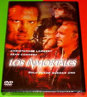 LOS INMORTALES / HIGHLANDER English Deutsch Italiano Español -DVD R2- Precintada