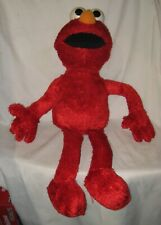 "2001 Talking Singing ""Play All Day Elmo"" - 22"" Sesame Street Toy TESTED & WORKS"