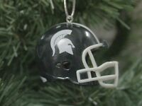Michigan State Football Helmet Christmas Ornament