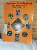 1970 Sports Illustrated Hank Aaron 3000 Hits Club Cover - Beauty! May 25