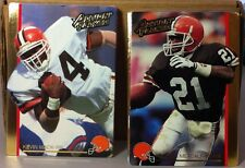1992 ACTION PACKED CLEVELAND BROWNS TEAM SET KEVIN MACK ERIC METCALF
