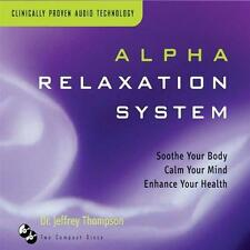 Alpha Relaxation System by Dr. Jeffrey Thompson [CD New]