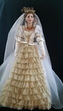 """Cindy Mcclure Fairy Tale Bride doll approx 21"""" tall no box no papers"""