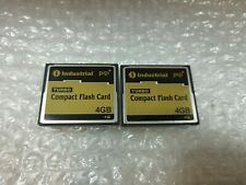 - 2x 4GB INDUSTRIAL pq1 TURBO COMPACT FLASH CF CARD