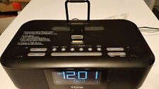iHOME HDL99 Radio Alarm Clock Docking Station (Functional) - Great Condition