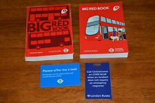 2012 & 2014 BIG RED BOOK BUS DRIVERS GUIDE FOR LONDON REF E135