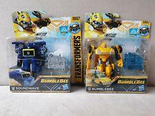 Transformers Bumblebee - Energon Igniters Bumblebee & Soundwave (PAIR!)